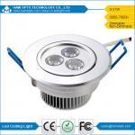 ドライブ天井によって導かれるランプが付いている3W LED Downlightは従来の照明灯のセリウムRoHSを取り替えます