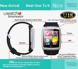 China Hot U18 Smart Wrist Watch Sport smart watch Bluetooth Mobile Phone Andriod Smart Watch on sale