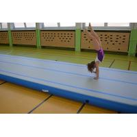 Size Customized Gymnastics Air Mat , Inflatable Air Tumble Track / Sport Activities