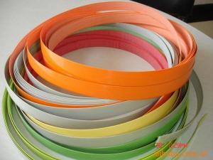 China 0.4mm thickness Furniture PVC Fittings Hot Sale Plastic Edging Strips Hengsu on sale