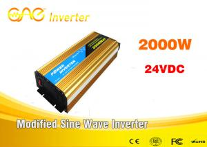China 2000W Off Grid Single Output  Car Power Inverter Portable Fror Home Sysytem on sale