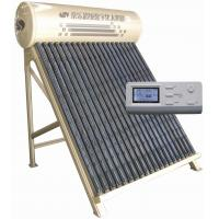 SL-CJSZH digital control vacuum direct-plug solar water heater