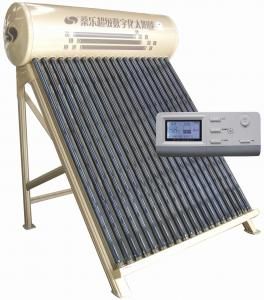 China SL-CJSZH digital control vacuum direct-plug solar water heater on sale