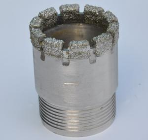 China diamond drill tools,electroplated diamond core bit on sale