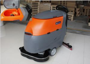 China Dual Brushes Industrial Tile Floor Cleaning Machines Ametek Suction Motor on sale