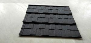 China Stone Coated Metal Roof Tile Steel Sheets lightweight roofing on sale