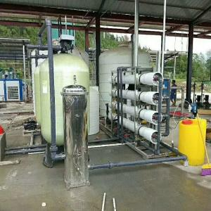 China FRP Industrial Water Purification Machine Automatic Manual Operation Non Leakage on sale