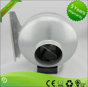 China 125mm Ventilation In-line Metal Inline Fan Centrifugal Air Blower on sale
