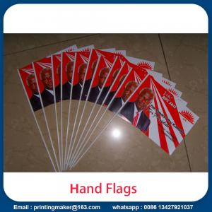 Custom Hand Held Flags Country National Banner Flag for sale