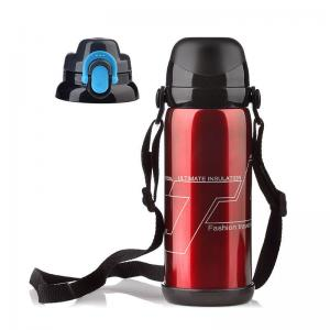 China SUS 304 LFGB 0.8L Thermos Stainless Steel Vacuum Insulated Bottle on sale