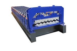 China Aluminium Sheet Cold Rolled Roof Tile Roll Forming Machine on sale