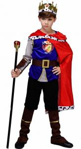 China Holiday / Carnival Teen Boy Halloween Costume Kid's Medieval Prince King Costume on sale
