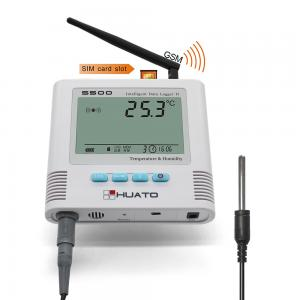 China 65000 Readings GSM Data Logger For Cold Room Temperature Monitoring on sale