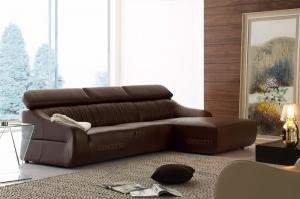 China Italy Luxury Leather Sofas Designs ,  Leather corner sofa on sale