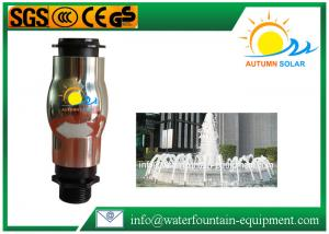 China DN25 Geyser Jet Water Fountain Nozzles Plastic Material Durable Energy Saving on sale
