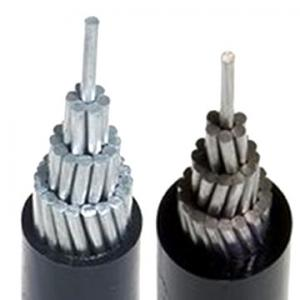 China aluminum conductor PE insulated cable on sale