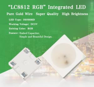 China hot sale dc5v 5050 digital rgb sk6812 ws2812b lc8812 led chip on sale