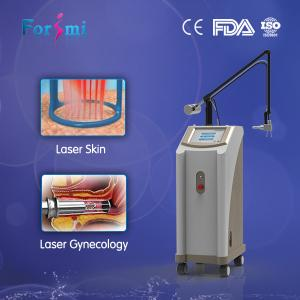 China Vertical Glass Tube CO2 Fractional Laser Ultrapulse Fractional CO2 Laser Machine on sale