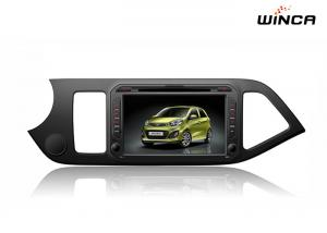 China Full Touch Kia GPS Navigation Picanto Car Stereo Android 6.0 Dvd Support 3g / Wifi on sale