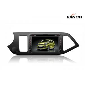 China Full Touch Kia GPS Navigation Picanto Car Stereo Android 6.0 Dvd Support 3g / Wifi supplier
