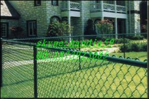 China Chain Link Fencing Materials/ chain link fence cost/installing chain link fence on sale
