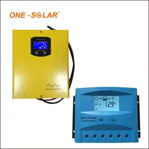 China 10A 20A 30A Solar Charger Controller , 12v 24v auto LCD screen PWM solar charger on sale