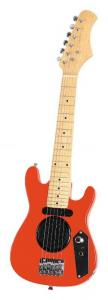China Children Wooden Mini Electric Guitar With Battery Powered Loudspeaker AGT30-AMP4 on sale