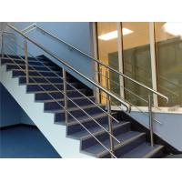 China 316 304 Stainless Steel Stair Railing 12.7mm Rod Diameter Indoor / Outdoor on sale