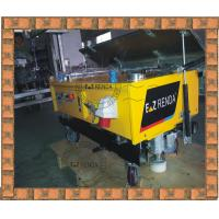 Full Automatic Rendering Machine Single Phase For Cement Mortar Wall China Supply Yellow Red