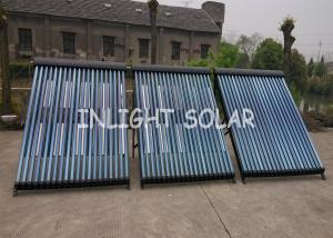 China Aislamiento negro del poliuretano de Rockwool del tubo del colector solar 20 del tubo de calor on sale