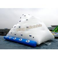Inflatable Water Parks Iceberg / Inflatable Water Sports for Adults and Children