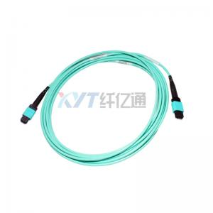 China Customized Optical Fiber Cable MTP / MPO Patch Cord Simplex Duplex OM3 0M4 on sale