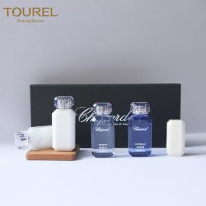 China Top Brand 5 Star Luxury Cosmetic Packaging 50ml Hotel Bath Amenities Set on sale