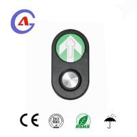 Cross Traffic Pedestrian Light Push Button with factory price and fast delivery