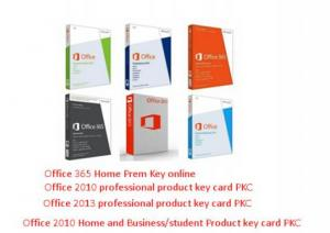 China Home Microsoft Office Product Key Codes OEM Discs Computer Utility Software on sale
