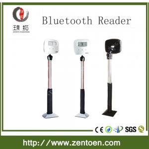 Bluetooth car parking system with barcode printer RFID card