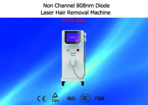 China Permanent 808nm Diode Laser Machine , Professional Laser Hair Removal Equipment on sale