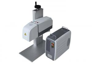 China Portable Mini CO2 Laser Marking Engraving Machine With Metal Laser Source on sale