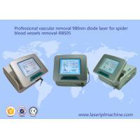 China Vascular Skin Rejuvenation Machine 980nm Diode Laser For Spider Blood Vessles Removal on sale