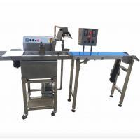China Food Grade Snack Food Making Machine , Chocolate Coating Machine Fully Automatic on sale