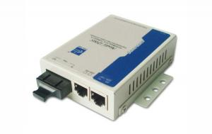 China 2 Port 10/100M Managed Media Converter With LED Lamps Function FCC Approval on sale