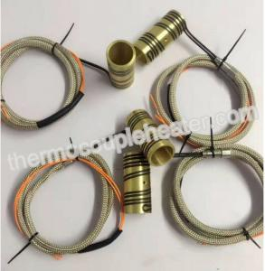China Brass / mica nozzle heater for injection machine copper / mica heating element on sale