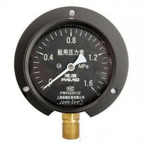 China Iron Alloy Remote Reading Thermometer / Yc Marine Industrial Pressure Gauge on sale