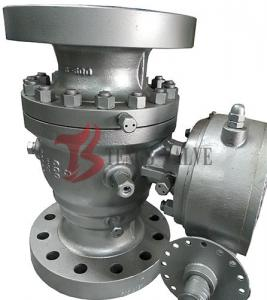 China API Cast Soft Seated Ball Valve WCB Trunnion Ball Valve 600LB Full Port 2PC Body Gear Operated on sale