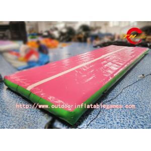 China Plancher de dégringolade/voie d'air gonflables extérieurs tapis de gymnase pour la taille adaptée aux besoins du client croulante on sale