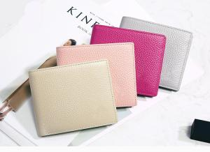 China Purse for women short style thin leather 2019 new Korean version of simple lady's wallet students cute small wallet on sale
