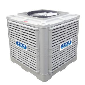 China DHF 30000 Air Volume Industrial Evaporative Air Cooler / Friendly Air Conditioner on sale
