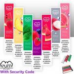 Puff Plus Disposable Pod Device Bar Starter Kit 550mAh Battery 3.2ml Cartridge Vape Empty Pen With Security Code