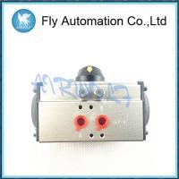 "Air Torque Double / Single Acting Pneumatic Rotary Actuators 1/4"" 1/2"" 1"" Size Aluminum AT105 Series"