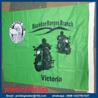 China Where to Get Custom Fabric Banners with Double Sides Printing on sale